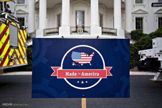 Trump'tan Amerikan ürünlere reklem