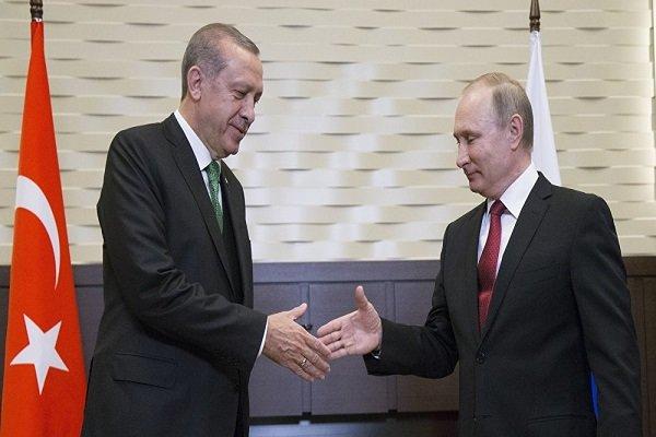 Putin arrived in Ankara