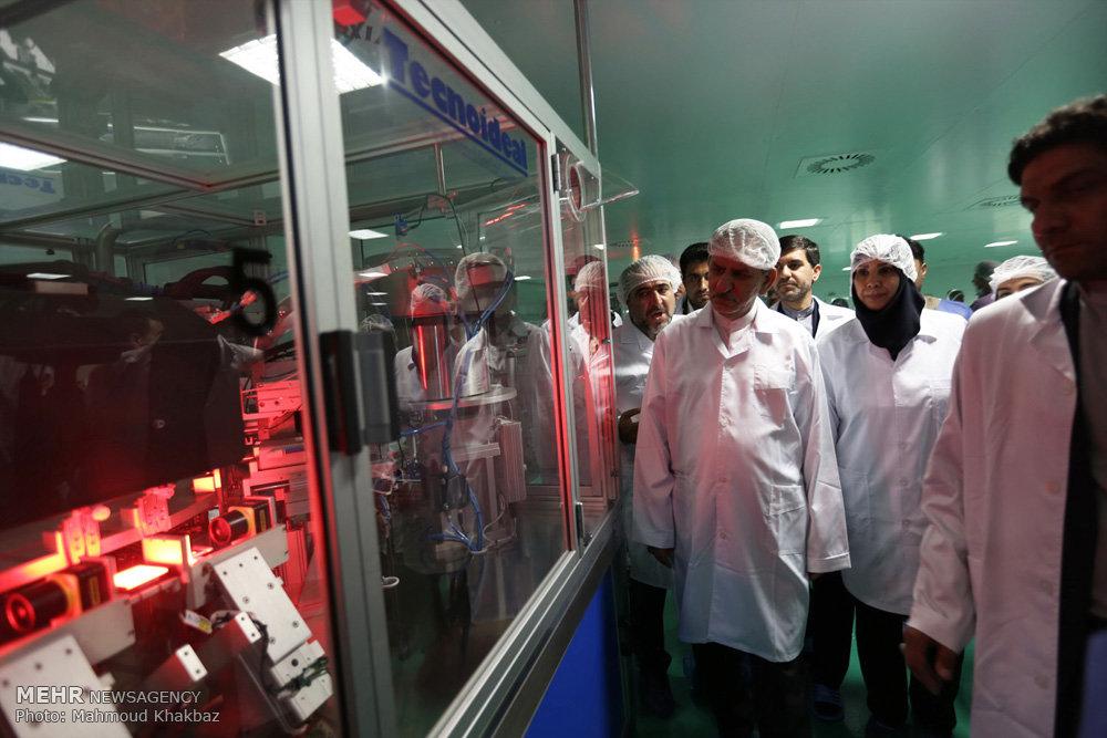 آیین افتتاح ۷ پروژه بزرگ صنعتی، عمرانی و گردشگری در جزیره کیش