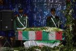 پیکر دو شهید گمنام در مصلای کرج تشییع شد