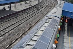 اولین قطار خورشیدی هند آغاز به کار کرد