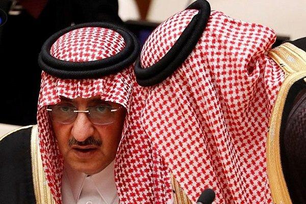 محمد بن نایف معتاد به کوکایین است/ملک سلمان کناره گیری نمی کند