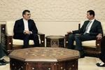 Jaberi Ansari meets with president Assad