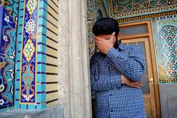 تشییع 4 شهید مدافع حرم تیپ فاطمیون در قم