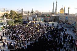 قم میں مدافع حرم 4 شہیدوں کی تشییع جنازہ