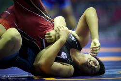 Asya Gençler Güreş Şampiyonası'ndan kareler