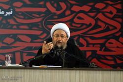 آية الله أملي لاريجاني: لا توجد سلطة قضائية أكثر استقلالية من القضاء الإيراني