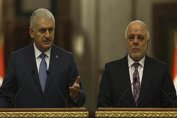 Yildirim, al-Abadi discuss KRG's illegitimate referendum