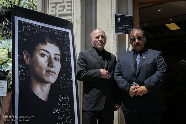 Ceremony honors Maryam Mirzakhani in Tehran