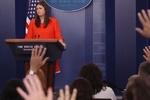 «سارا سندرز» سخنگوی جدید کاخ سفید شد