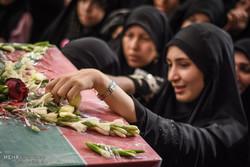 فرهنگ شهادت در جامعه تقویت شود/ حضور خانواده شهید حججی در دشتی