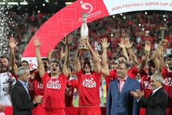 """برسبوليس يحرز بطولة """"كأس السوبر"""" لكرة القدم في ايران"""