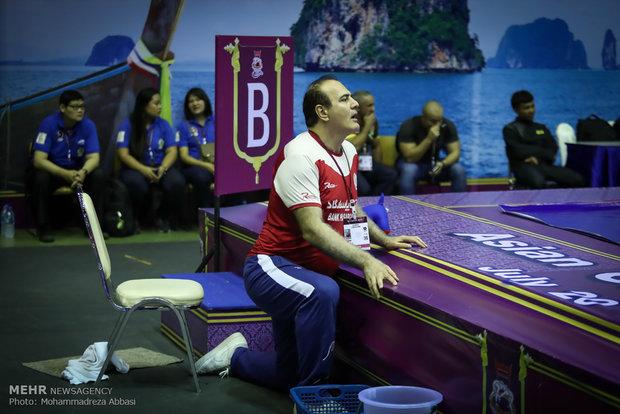 Asya Gençler Güreş Şampiyonası'nın ikinci gününden karelerیلند