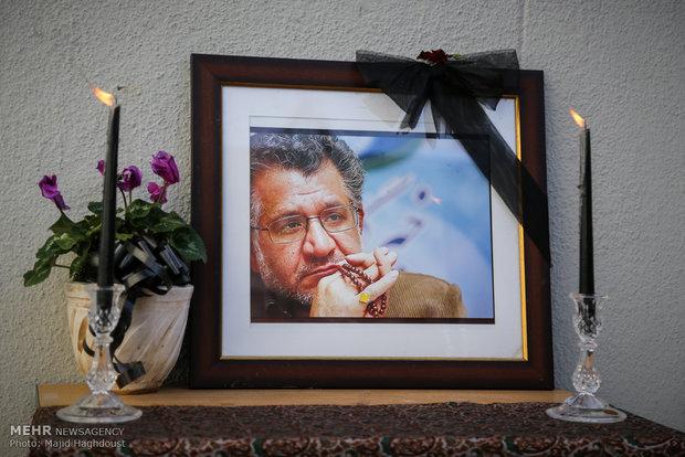 مراسم تشییع پیکر زنده یاد حبیب الله کاسه ساز، تهیه کننده سینمای دفاع مقدس