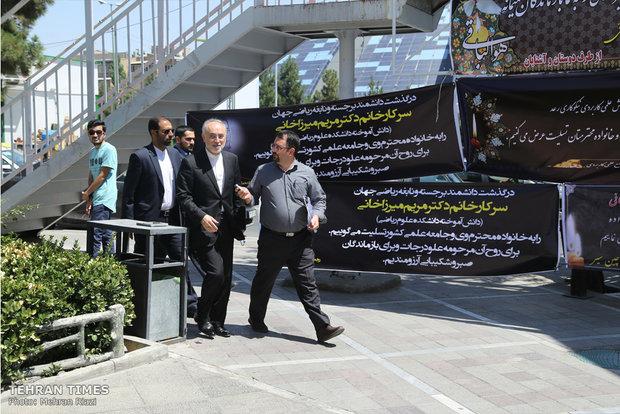 Memorial service held for Maryam Mirzakhani in Tehran