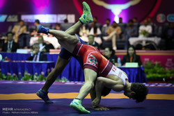 Iranian freestyler vice-champion at World Cadet C'ships