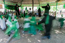 مراسم «عاشورای قدیم» روستای مهران طالقان