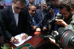 سفر سید حسن قاضیزاده هاشمی وزیر بهداشت به سمنان