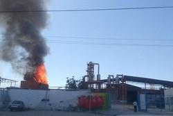 کارخانه رب در آشخانه قبل از افتتاح دچار آتش شد