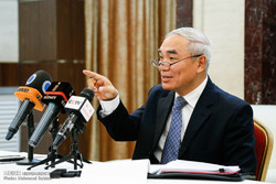 نشست خبری نماینده ویژه چین در امور سوریه