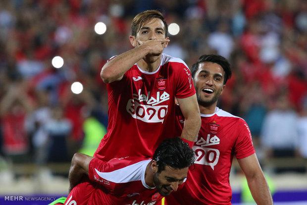 برسبوليس يحرز بطولة كأس السوبر الايراني