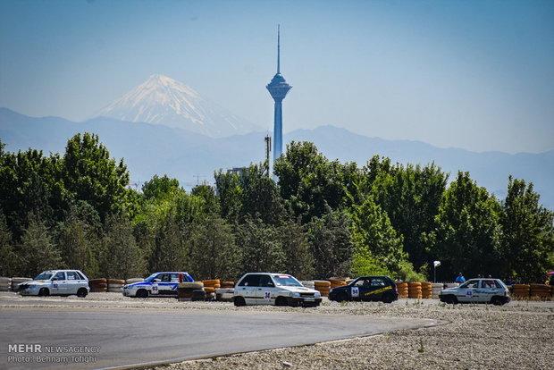 طهران تشهد ثاني جولة لسباقات الرالي