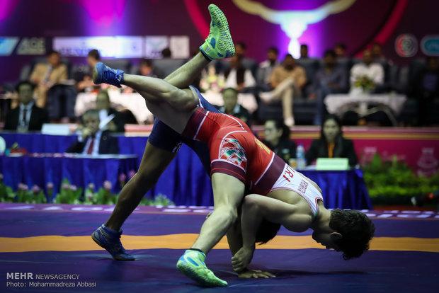 Iranian freestyler vice-champion at World Cadet C'ships