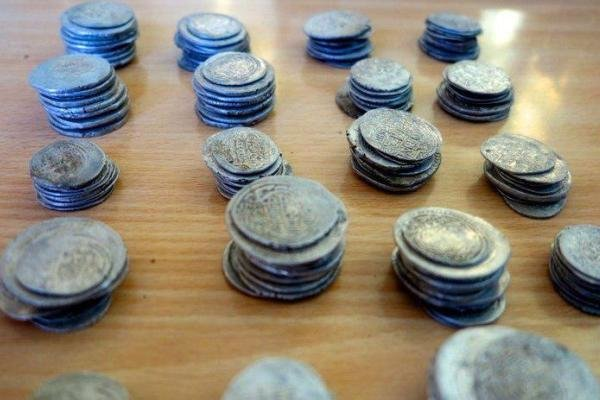300 Sassanid era coins hauled by police