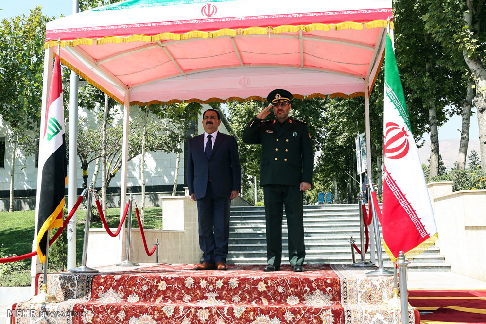 Iran, Iraq take steps for closer military co-op