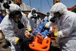مناورات لتأهيل قوات الاغاثة في سوريا استعدادا لوقوع قصف كيميائي