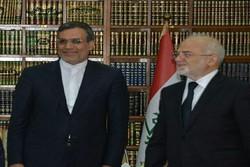 Cabiri Ensari Bağdat'ta Irak Dışişleri Bakanı'yla görüştü