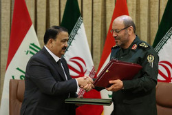 Iran, Iraq sign MoU on defense coop.