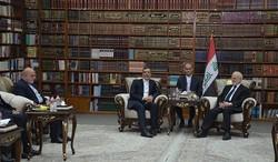 Iranian diplomat meets Iraqi president
