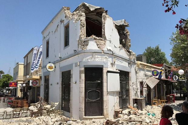 زلزله در یونان و ترکیه