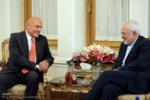 Avusturya ve İsviçre büyükelçilerinin Zarif'le görüşmesi