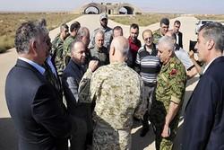 نخست وزیر سوریه از پایگاه الشعیرات در حمص بازدید کرد