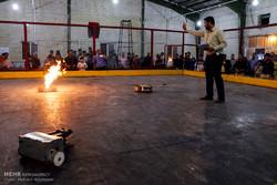 مسابقات کشوری ربات های جنگجوی حرفه ای در کرمان