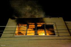 حریق در کارگاه پخت سوهان در قم