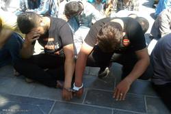 دستگیری ۶۱۲ خورده فروش و توزیع کننده مواد مخدر در پایتخت . کشف ۱۳۰ کیلو گرم انواع موادمخدر