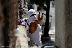Doğu Kudüs'teki çatışmalardan kareler