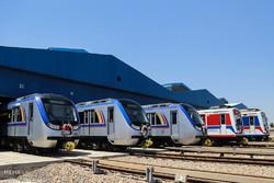۵۰ دستگاه واگن مترو  تولید داخل وارد حمل و نقل شهری کشور شد