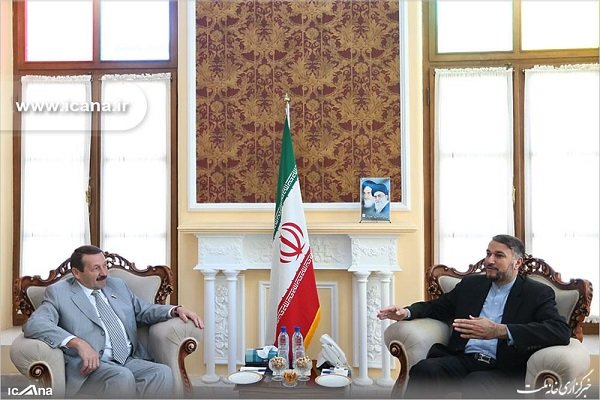 عبداللهيان يستقبل رئيس لجنة الصداقة الإيرانية الروسية  على مستوى البرلمانات