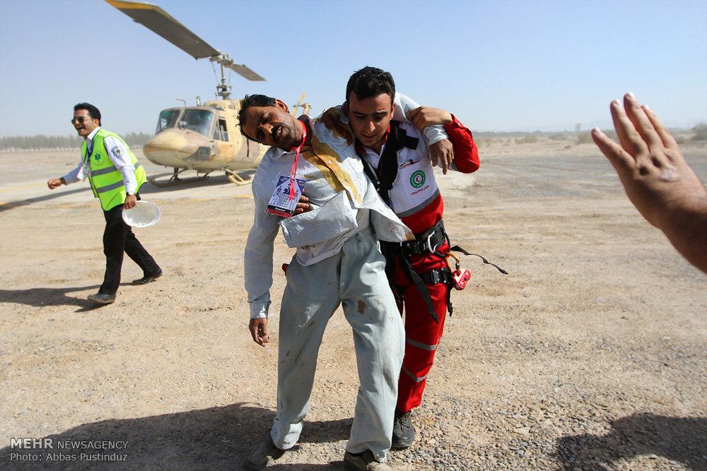 مانور کامل طرح اضطراری فرودگاه بین المللی اصفهان
