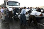 کاهش ۲۰ درصدی تصادفات جاده ای هرمزگان