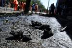 Kabil'deki terör saldırısından kareler