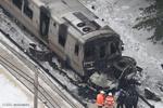 امریکہ میں شہری ٹرین کی گاڑی سے ٹکرمیں 6 افراد ہلاک