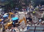 ممبئی میں 2 منزلہ رہائشی عمارت گرنے کے نتیجے میں 11 افراد ہلاک