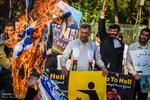 تہران میں مدافعین حرم اقصی کا اجتماع
