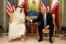 ٹرمپ کی امیر قطر کے ساتھ ٹیلیفون پر گفتگو