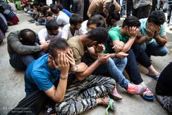 ۶۷ نفر از اراذل و اوباش در هرمزگان دستگیر شدند